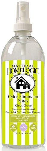 Natural HomeLogic Eco Friendly Odor Eliminator Spray - 16 fl. oz (1 Pack, Citrus Grove) by Natural HomeLogic