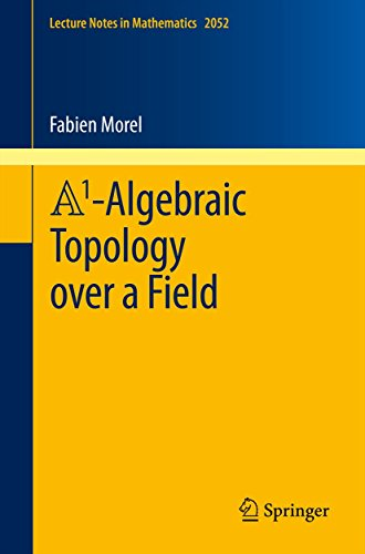 A1-Algebraic Topology over a Field (Lecture Notes in Mathematics Book 2052)