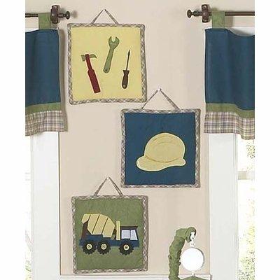 Sweet Jojo Designs Construction Zone Wall Hanging Accessorie
