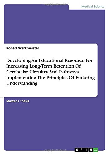 Download Developing An Educational Resource For Increasing Long-Term Retention Of Cerebellar Circuitry And Pathways Implementing The Principles Of Enduring Understanding PDF