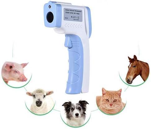 HEI SHOP Handheld-Haustier-Infrarot-Thermometer Haustier Hund Katze Thermometer Berührungslose Infrarot-Thermometer Geeignet Für Haustiere, Um Körpertemperatur Zu Messen