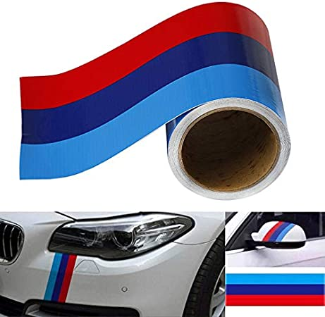 M-Colored Stripe Sticker 3 Meters Car Vinyl Decal