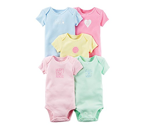 Carters Girls Multi PK Bodysuits 126g548