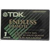 TDK EC1M Endless Loop Cassette Tape (1 min)