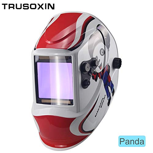 (Welding Helmets|Out control Big view eara 4 arc sensor DIN5-DIN13 Solar auto darkening TIG MIG MMA welding mask/helmet/welder cap/lens/face mask|by ATAKA|)