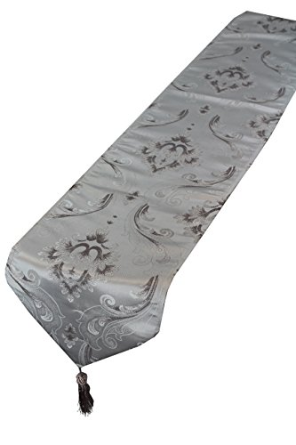 Violet Linen Vintage Collection Luxurious Boutique Table Runner, 13