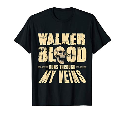- Team Walker Personalized Last Name Shirt