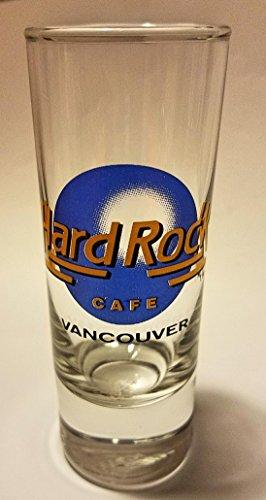 1 Cordial Glass (Hard Rock Cafe Atlantic City (Black Lettering) Cordial Shot Glass)