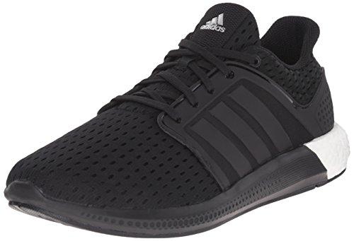 (adidas Performance Men's Solar Boost M Running Shoe Black / Black / Silver - 6.5 D(M) US)