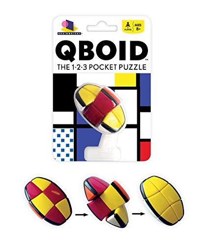 (Brainwright Qboid The 1-2-3 Pocket Puzzle)