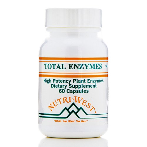 Total Enzymes - 60 Capsules by Nutri West