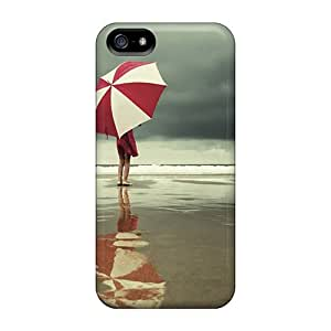 Perfect Tpu Umbrella At The Beach Phone Case Cover Skin For Iphone 5/5s Protective Case
