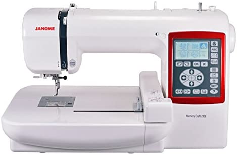 Janome - MC-230E para bordar: Amazon.es: Hogar