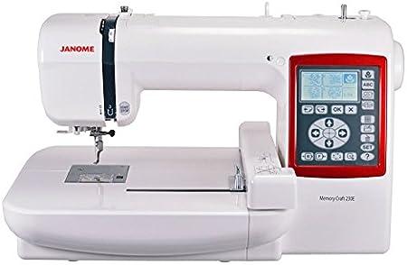 Janome - MC-230E para bordar: Amazon.es: Hogar