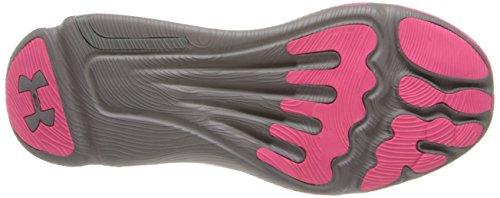 Under Armour, Scarpe da corsa donna grigio/rosa, (grau / pink), 7.5 US - 38.5 EU