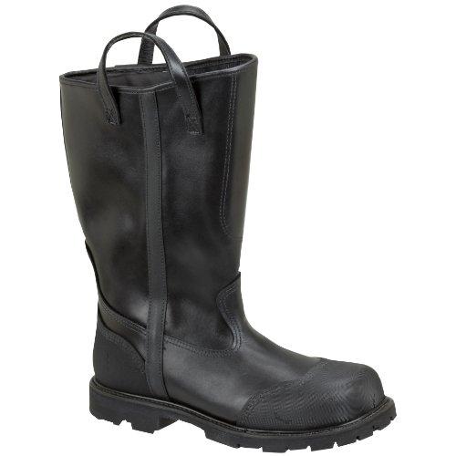 UPC 014799626143, Thorogood Men's 14 inch Structural Firefighting Oblique Steel Toe Waterproof Bunker Boots 14 W