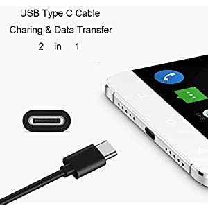 USB Type C Cable for Huawei Phone, USB C Data & Charging Charger Cord for Huawei Honor 8/Honor V9, Mate 9/Mate 9 Pro, P10 / P9 / P9 Lite / P9 Plus,Mate Book and other USB C Device
