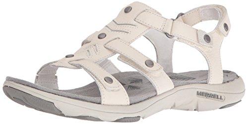 Merrell Kvinners Adhera Tre Atle Sandal Hvit