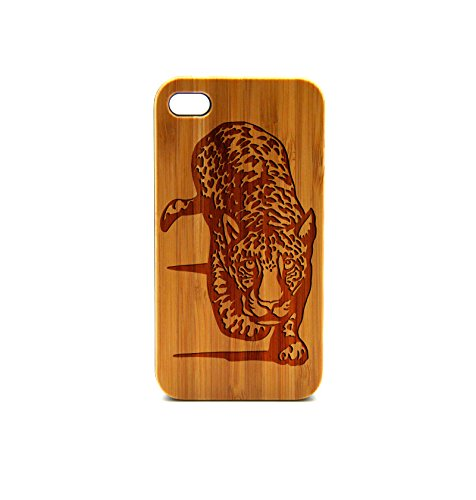Krezy Case Real Wood iPhone 6 Plus Case, Leopard iPhone 6 Plus Case, Wood iPhone 6 Plus Case, Wood iPhone Case,