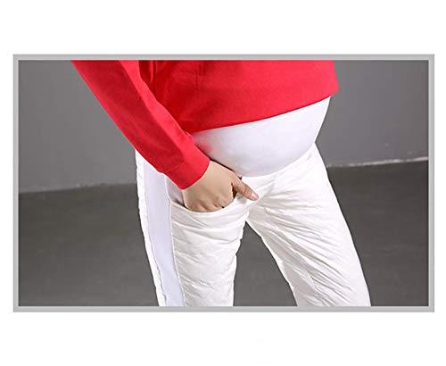 Jaune Pantalon Maternité Canard Collants Jambières Noir Targogo Vintage Épaissie Bleu Élastique De Vêtements Soins Grossesse Infirmiers Blanc Hiver Automne Duvet Chaud TwCnqd