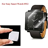 Yishun 0.3mm/9H Hardness/Shatter-Proof, Glass Screen Protector for Sony Smart Watch SW2
