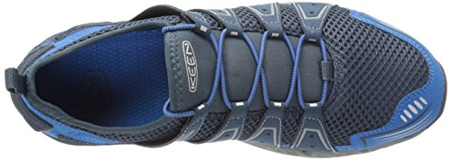 Keen Mens Versavent Hiking Boot Midnight Navy/Imperial Blue
