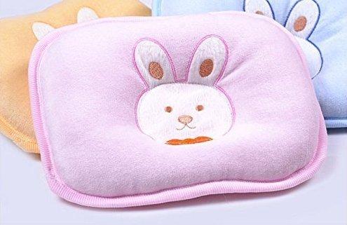 Zeuxs bébé nouveau-né en velours Taie d'oreiller Taie d'oreiller Tête Forme correcte