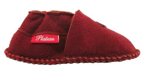 Rouge Veritable Fille Pour Chaussons Étoile Enfant Laine Doublure red En Souple Garçon Bottines D'agneau Bébé Tibet Plateau Cuir Chaussures 5fgqTT