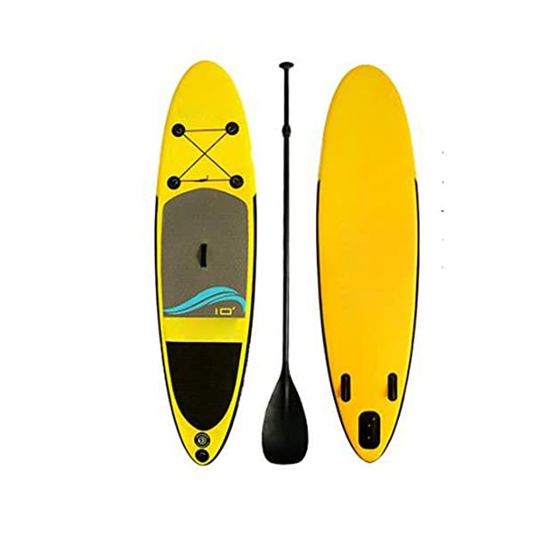 Stand Up Paddel Gonfiabile Fiume adulti galleggiante gonfiabile SUP Stand Up Paddle Board con Carry Bag Kit di… 1 spesavip