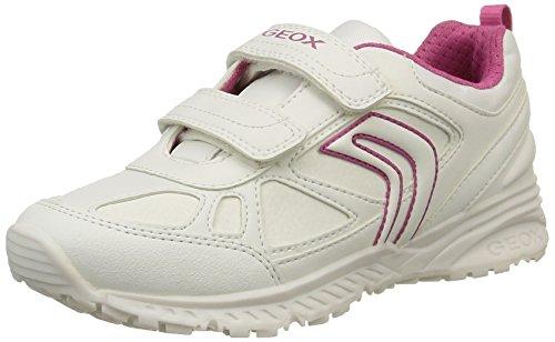 fuchsiac0563 Geox Girl Zapatillas white J Para Niñas Bernie Blanco qHqpw8z