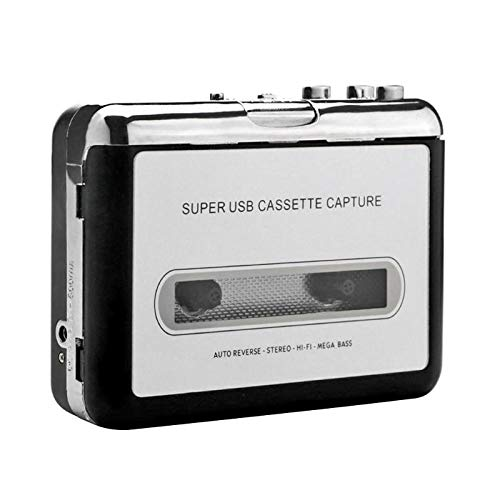 AjaxStore - Tape to PC Super Cassette to MP3 Audio Music CD Digital Audio Music Player Converter Capture Recorder Cassette Player