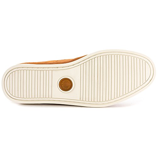 Fred Perry Lawson Leather Tan Marrón