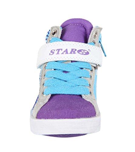 Baskets strasses - bleu - Enfant mixte