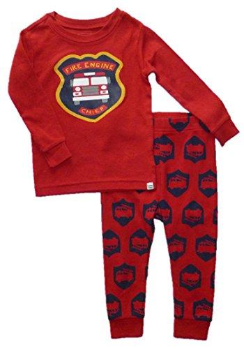 baby-gap-boys-2-pc-cotton-red-fire-engine-pajama-pants-set-12-18-months