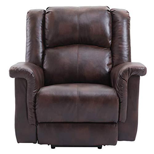 Esright Power Lift Chair Electric Recliner PU Leather Heated Vibration with Multi-Function Control...