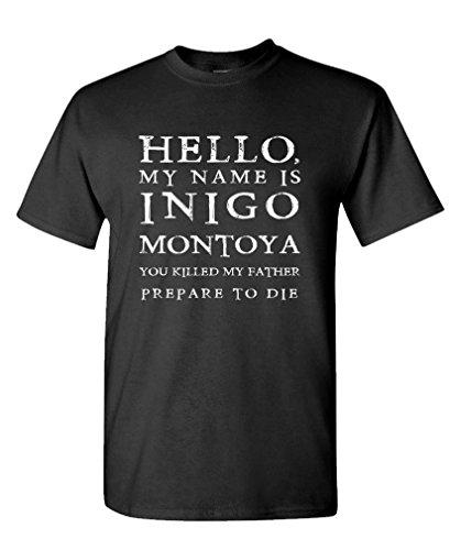 HELLO MY NAME INIGO MONTOYA