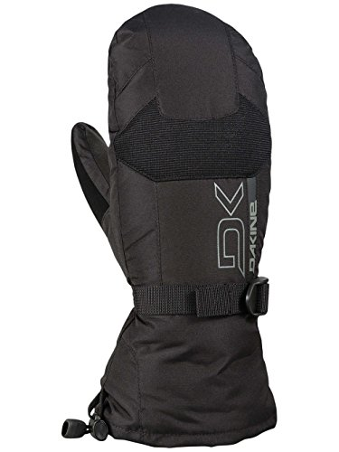 Dakine Insulated Mittens - Dakine Men's Leather Scout Mittens, Black, L