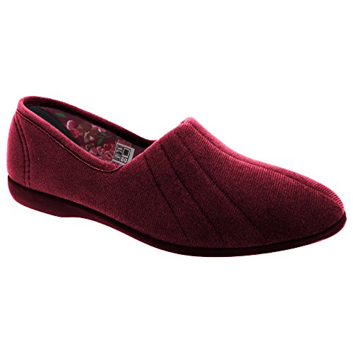 GBS Audrey Ladies Slipper / Womens Slippers (5 UK) (Burgundy) WVzrXhh