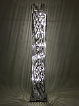 Cayan Tower LED Woven Wire and Aluminium Twisted Prism ...