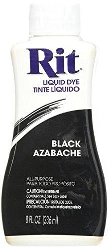 Rit Dye Liquid Fabric Dye, 8-Ounce,  Black