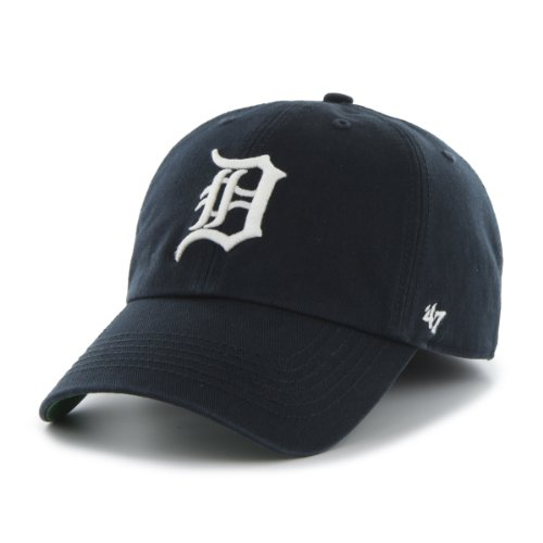 ('47 MLB Detroit Tigers Cap, Navy, Large)
