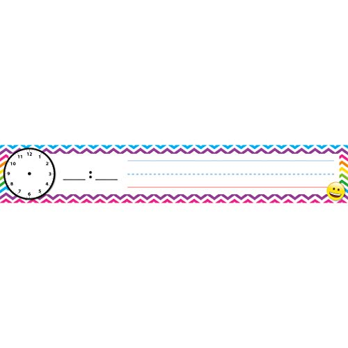 Ashley Productions ASH94800 Pocket Chart Inserts, Scheduling Cards, Emoji, Paper/Polypropylene (PP) Coating