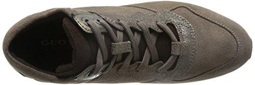 Geox Calzado Deportivo Para Mujer, Color Hueso, Marca, Modelo Calzado Deportivo Para Mujer D Shahira A Hueso Hueso