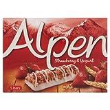 Alpen Strawberry & Yogurt Cereal Bar Breakfast Cereal (28g , 10 Bars) By Thaidd