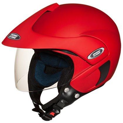 Buy Studds Marshall Half Helmet (Matt Sports Red, L)
