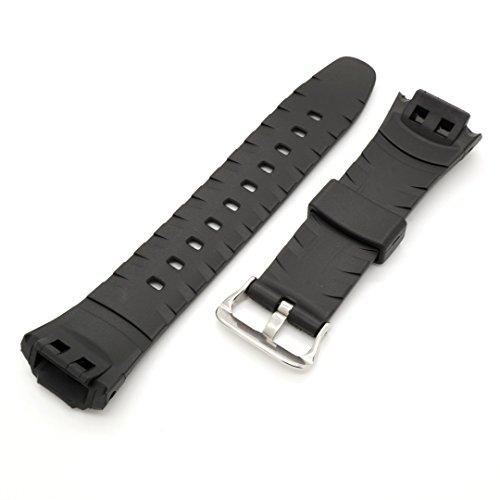 PerFit Casio Replacement Watch Band for G-Shock GW500 GW530 GWM500 GWM530 MTG900 MTGM900 + others, Black by PerFit® (Image #2)