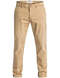 Mens Krandy Straight Fit Tapered - Chinos Pants Brown 31