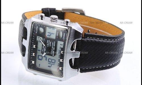 UPC 700621220268, AMPM24 LCD Date Day Alarm Men Digital Sport Quartz Wrist Watch OHS033