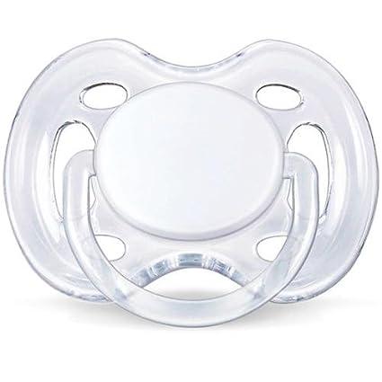 Chupete transparente Airflow Avent 0 - 6 M blanco: Amazon.es ...