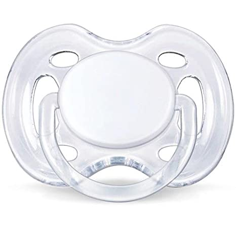 Chupete transparente Airflow Avent 0 - 6 M blanco: Amazon.es ...